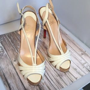 💯 Auth Christian Louboutin Summer Shoe